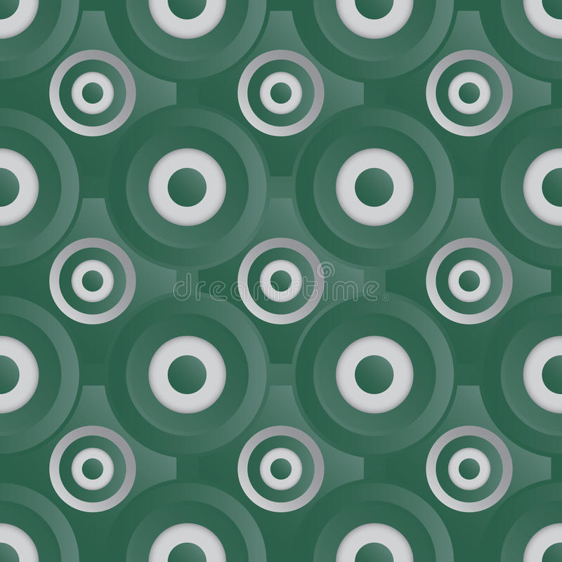 Download Unending Raster Silver Green Stock Vector - Image: 35123161