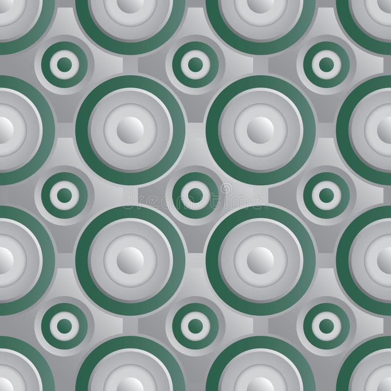 Download Unending Raster Silver Green Stock Vector - Illustration of hangings, industrial: 35123443