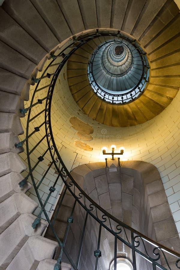 Unendlichkeitsleuchtturmtreppe stockfotos