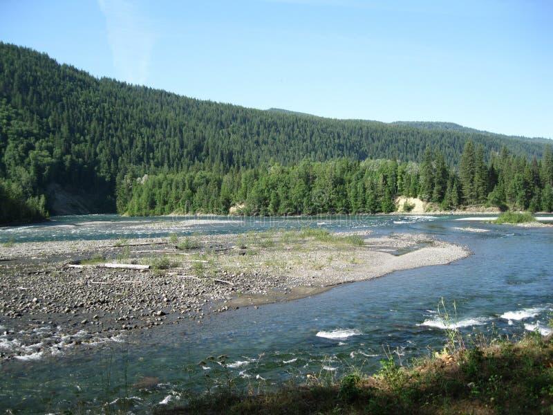 Download Unendosi dei fiumi fotografia stock. Immagine di riverbed - 55352312