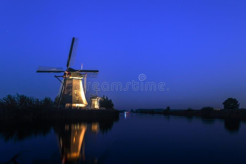 Unesco światowego dziedzictwa wiatraczki zdjęcie stock
