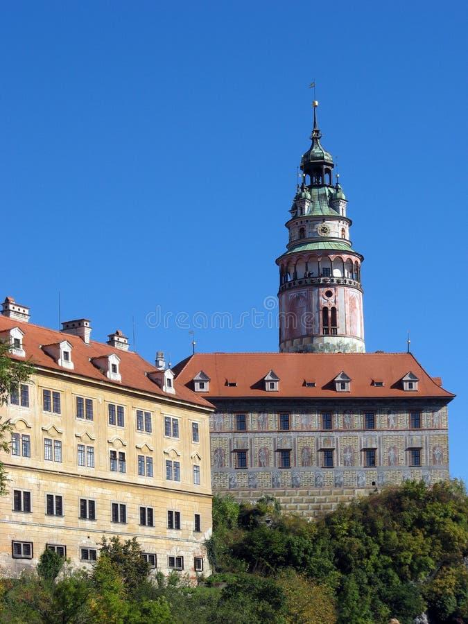 UNESCO - castle in town Czech Krumlov