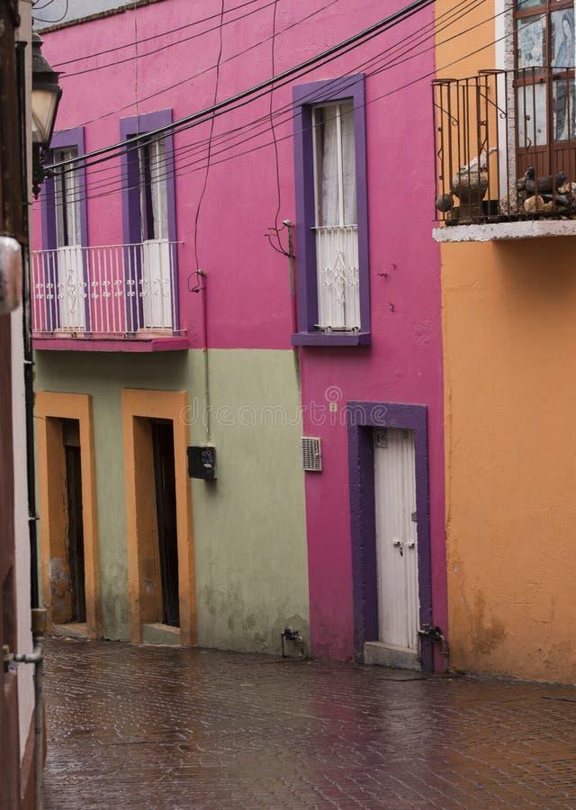 Unesco-de stad van de Werelderfenis van Guanajuato, Mexico stock foto's