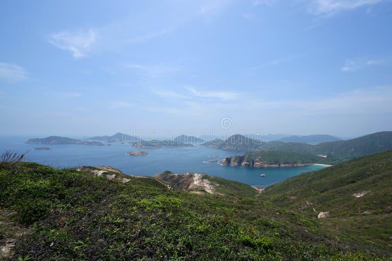 UNESCO Globalny Geopark, Sai Kung, HK obrazy royalty free