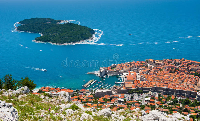 Download Unesco Heritage Dubrovnik stock image. Image of stone - 25597609