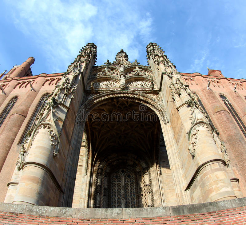 Unesco Heritage Site Albi Cathedral in France