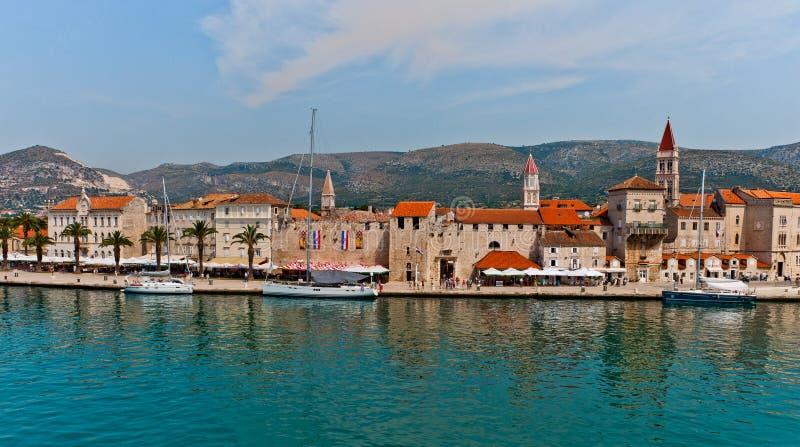 Unesco Heritage Trogir In Croatia Stock Photo