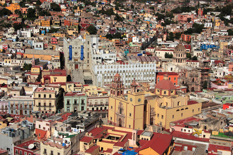 UNESCO Historic Town of Guanajuato, Guanajuato, Mexico royalty free stock photo