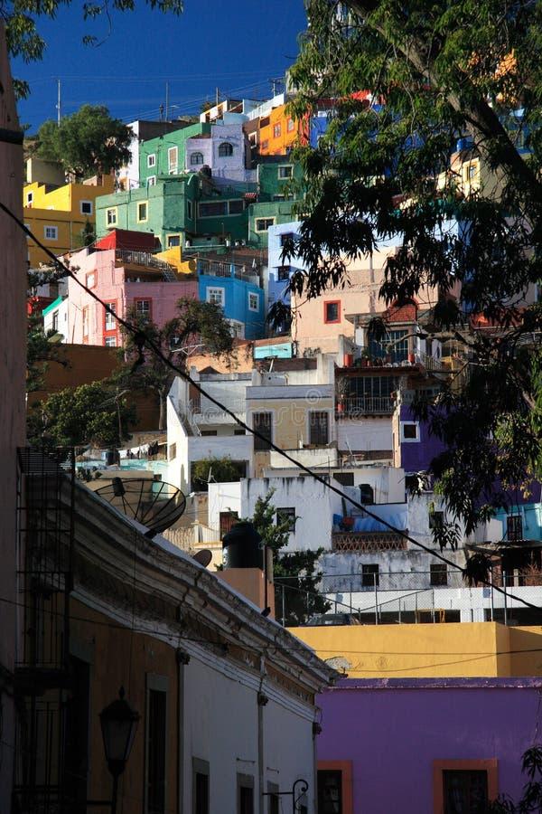 UNESCO-historische Stadt von Guanajuato, Guanajuato, Mexiko stockbild
