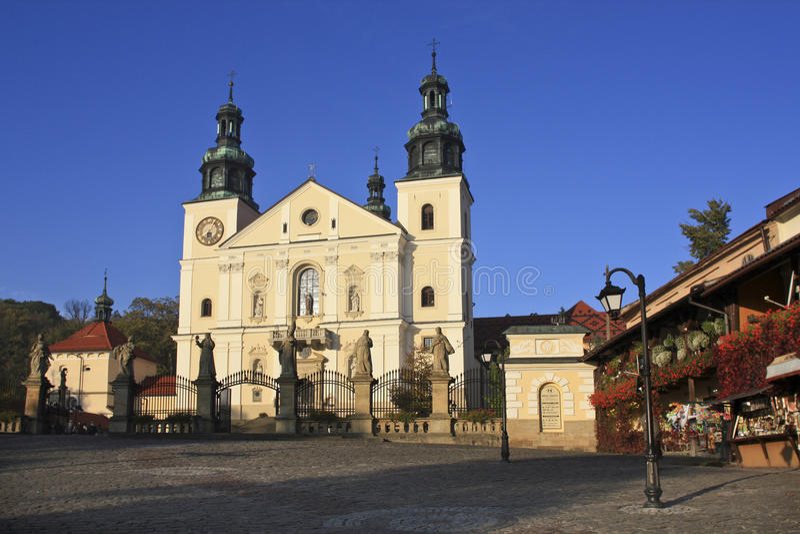 UNESCO listade fristaden av Kalwaria Zebrzydowska royaltyfri bild