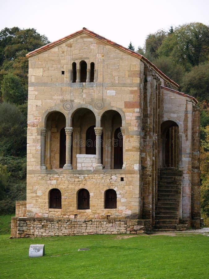 UNESCO protected Santa Maria del Naranco