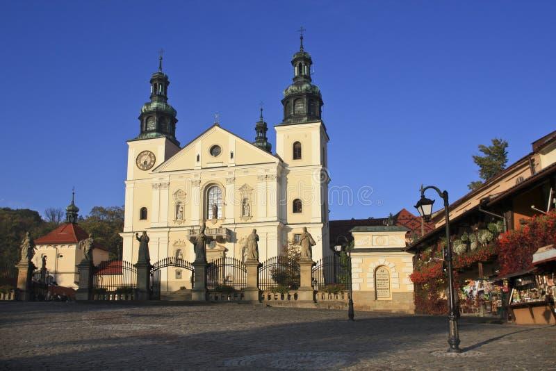 Unesco vermeld heiligdom van Kalwaria Zebrzydowska royalty-vrije stock afbeelding