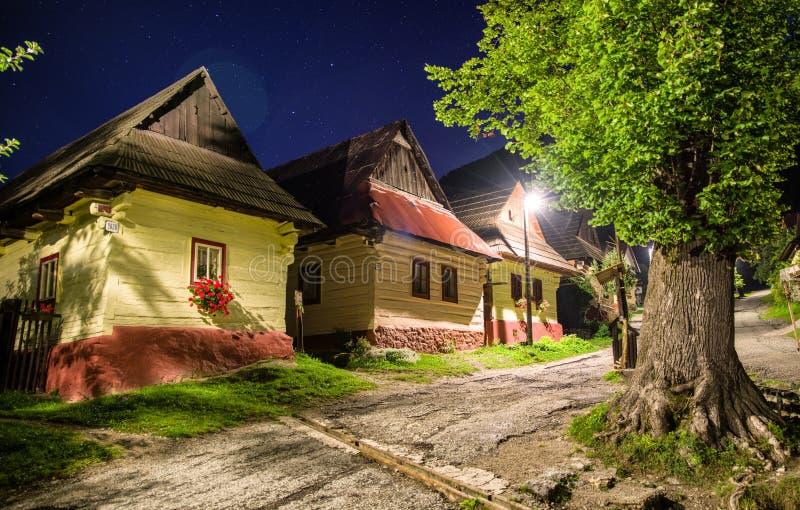UNESCO village Vlkolinec, Slovakia royalty free stock images