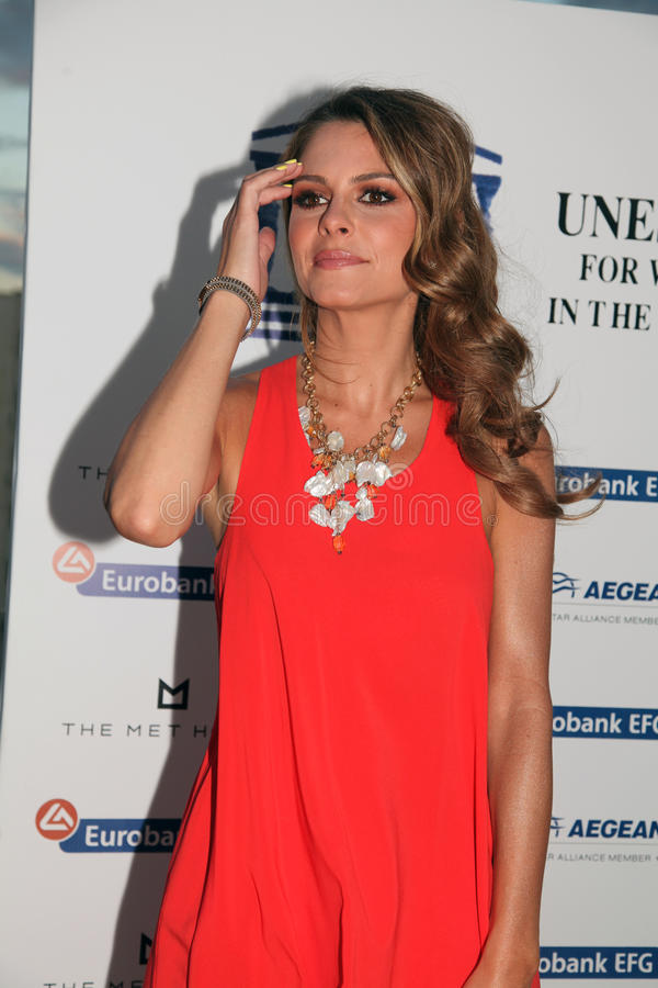 Download UNESCO Welcomes The Journalist And Actress Maria Menounos Editorial Image - Image: 28422295