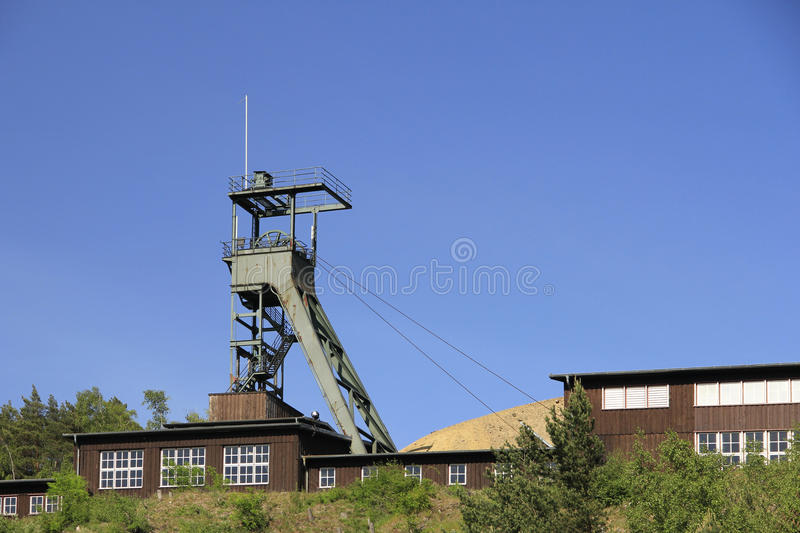 UNESCO World Heritage Mines of Rammelsberg. Goslar, Harz, Lower Saxony, Germany stock photography