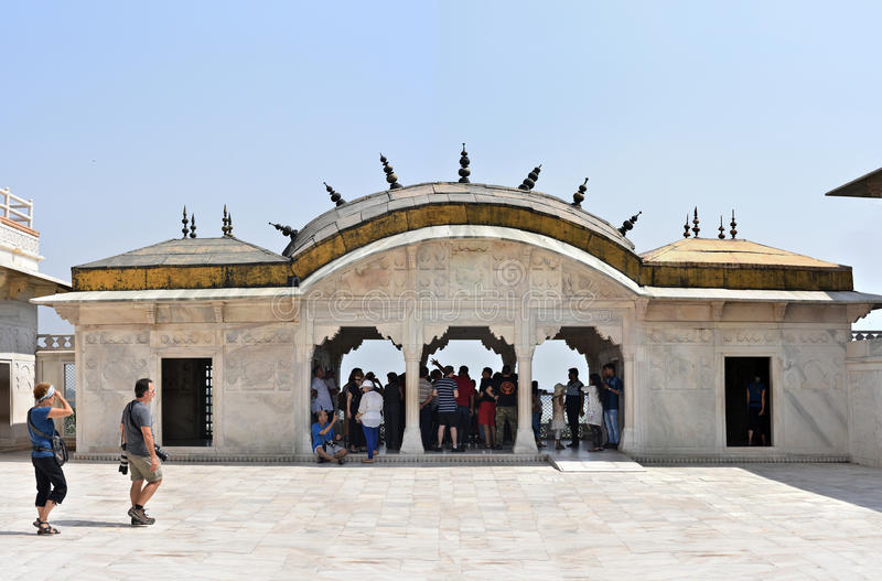 UNESCO World Heritage site Agra Fort royalty free stock photo