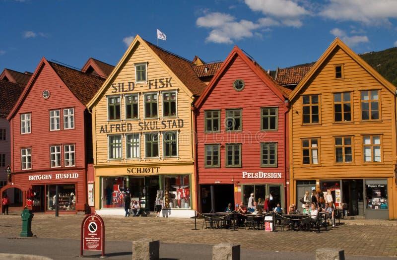 UNESCO World Heritage Site, Bryggen, Bergen, Norway