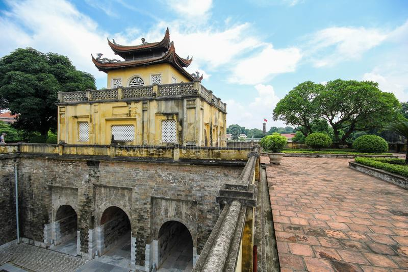 A UNESCO World Heritage Site, Imperial Citadel Of Thang Long In Hanoi,  Vietnam Stock Photo - Image of attraction, cultural: 107781148