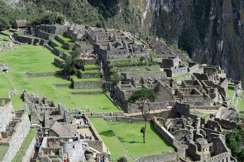 Machu Picchu Peru Details stock images
