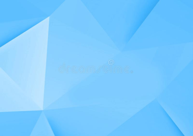 Uneven blue wallpaper layer design for background royalty free illustration