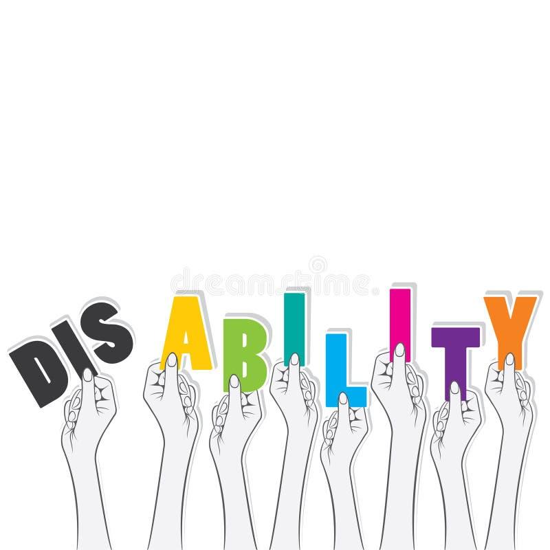 Unfähigkeitsdrehungsfähigkeits-Konzeptdesign vektor abbildung