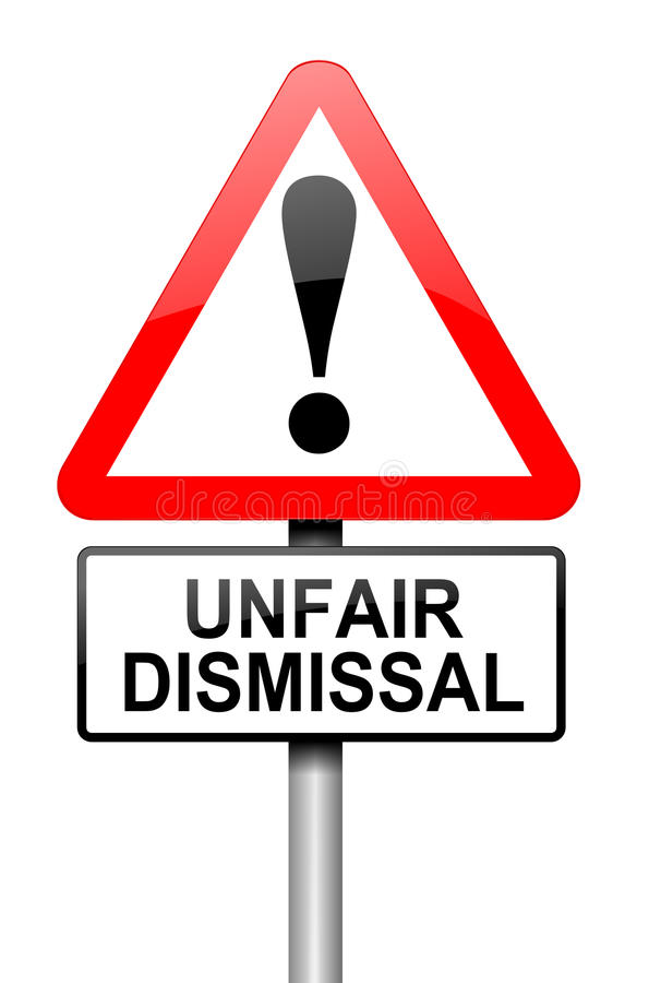 Unfair Dismissal Concept. Royalty Free Stock Images