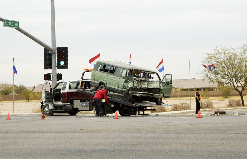 Unfall-Reinigung 1. lizenzfreie stockfotografie
