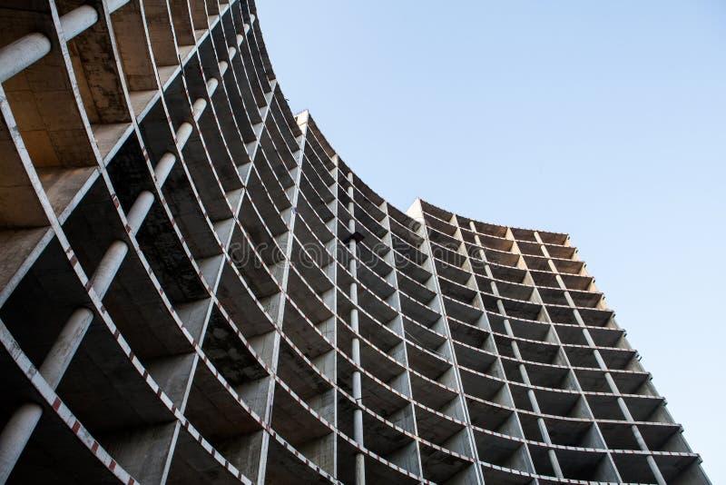 Unfertiges Gebäude lizenzfreie stockfotos