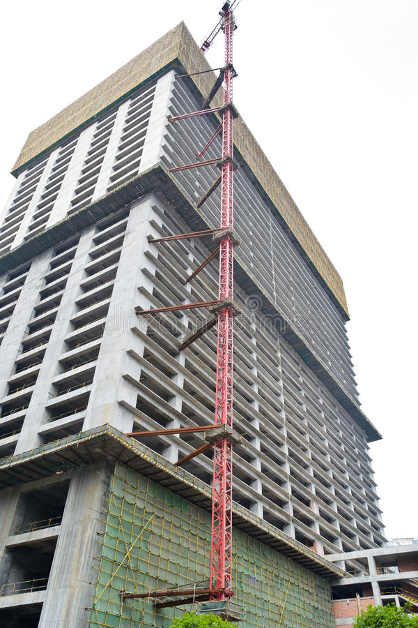 Download Unfinished building stock image. Image of structure, modern - 19920261