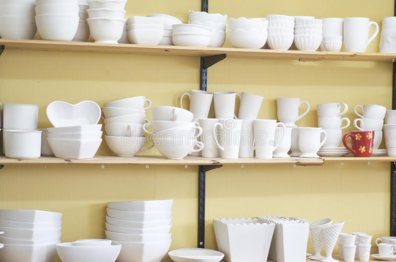 Download Unfinished Pottery,But One. Stock Photo - Image: 30477352