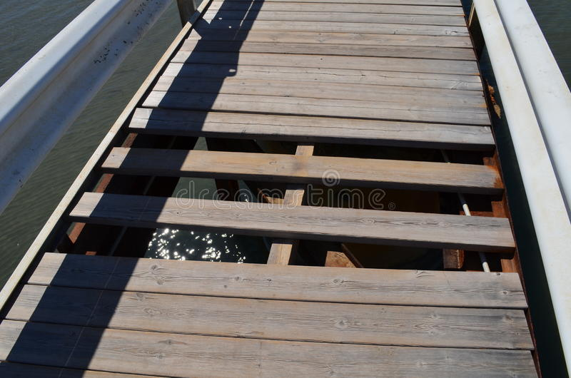 Unfinished walkway! royalty free stock images