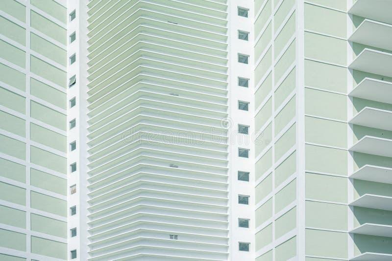 Unform facade green royalty free stock photo