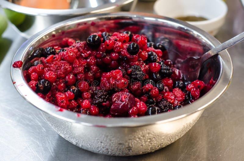 Unfrozen berries royalty free stock image