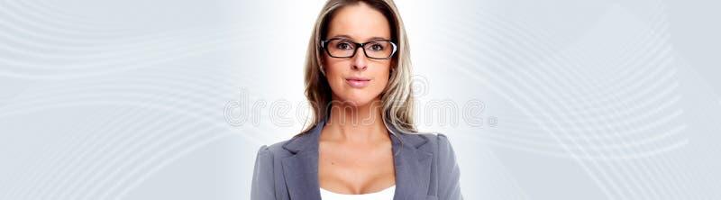 Ung affärskvinna arkivbilder