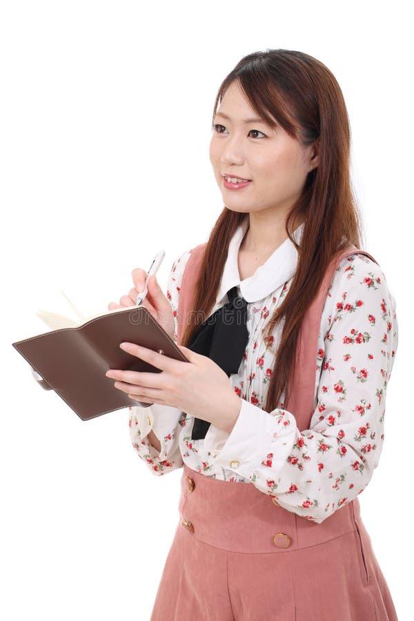 Ung asiatisk kvinna
