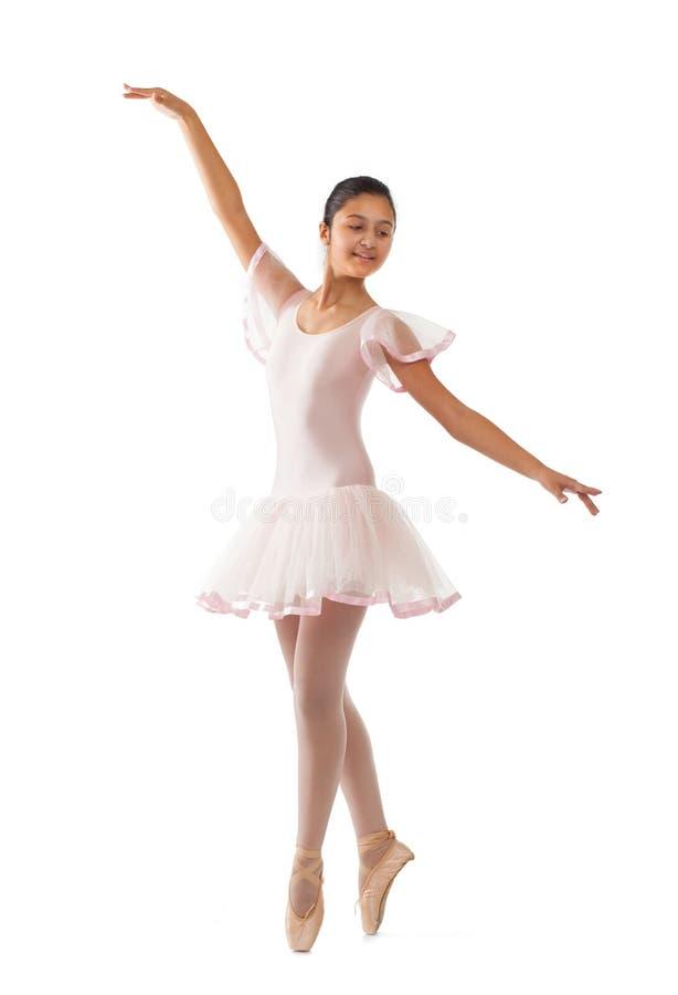 Ung balettdansör royaltyfri fotografi