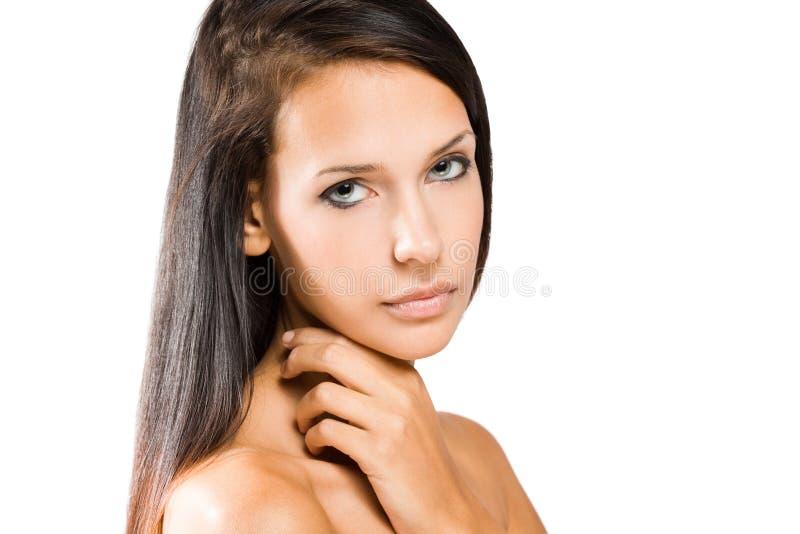 Download Ung Brunettkvinnaskönhet Sköt. Arkivfoto - Bild av lady, person: 27276460