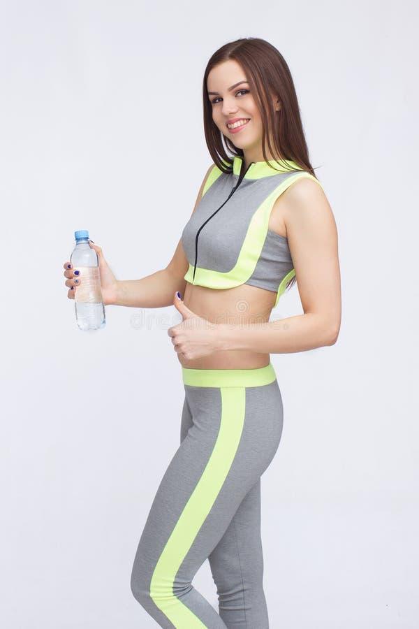 Ung dam i sportswear arkivfoto