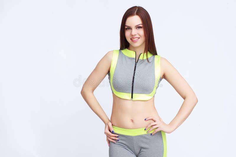 Ung dam i sportswear arkivfoton