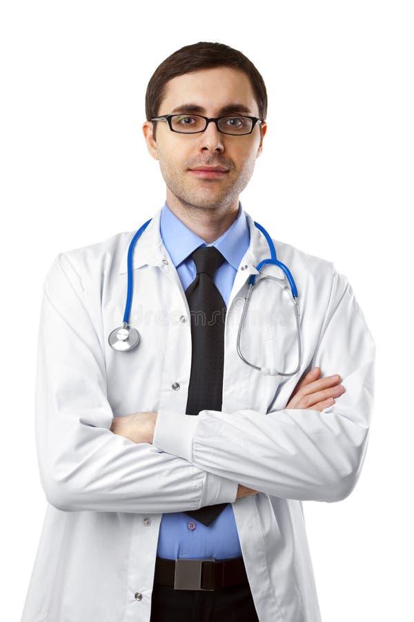 Ung doktor royaltyfri foto