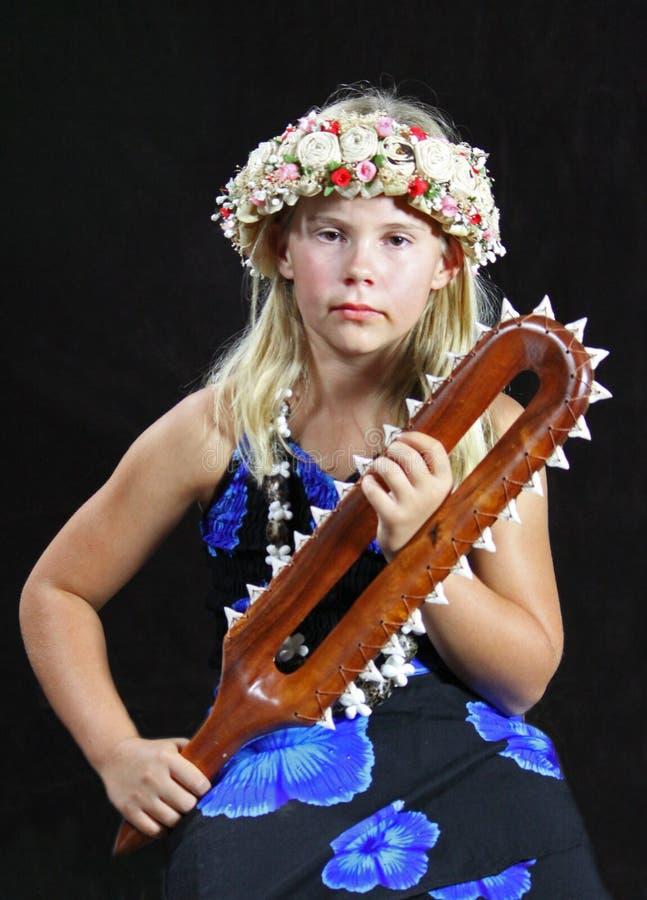 Ung flicka arkivfoto