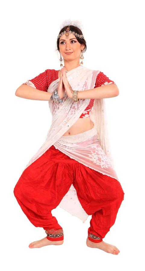 Download Ung Flicka I Den Indiska Nationella Dräkten Arkivfoto - Bild av kultur, flicka: 27282374
