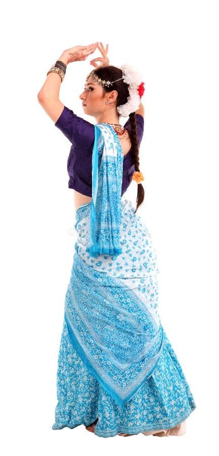 Download Ung Flicka I Den Indiska Nationella Dräkten Arkivfoto - Bild av ethnic, kvinna: 27282392