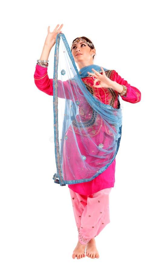 Download Ung Flicka I Den Indiska Nationella Dräkten Fotografering för Bildbyråer - Bild av askfat, livsstil: 27282393