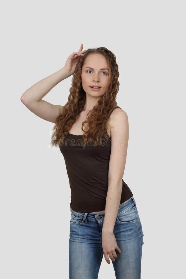 Ung kvinnadans arkivbild