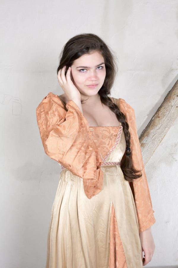 Ung princess arkivfoton