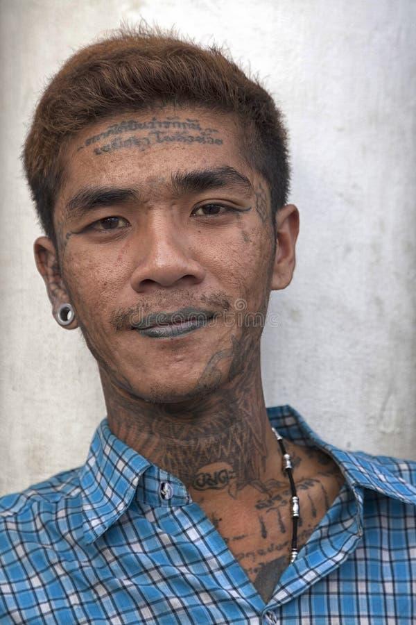 Ung thailändsk man
