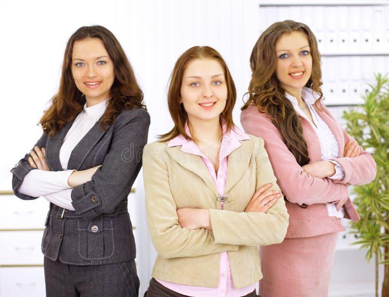 unga affärskvinnor royaltyfria bilder