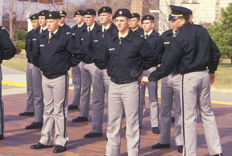 Unga Cadets arkivbilder