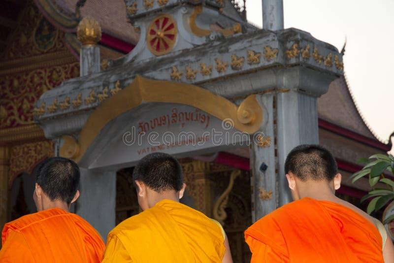 unga monks fotografering för bildbyråer